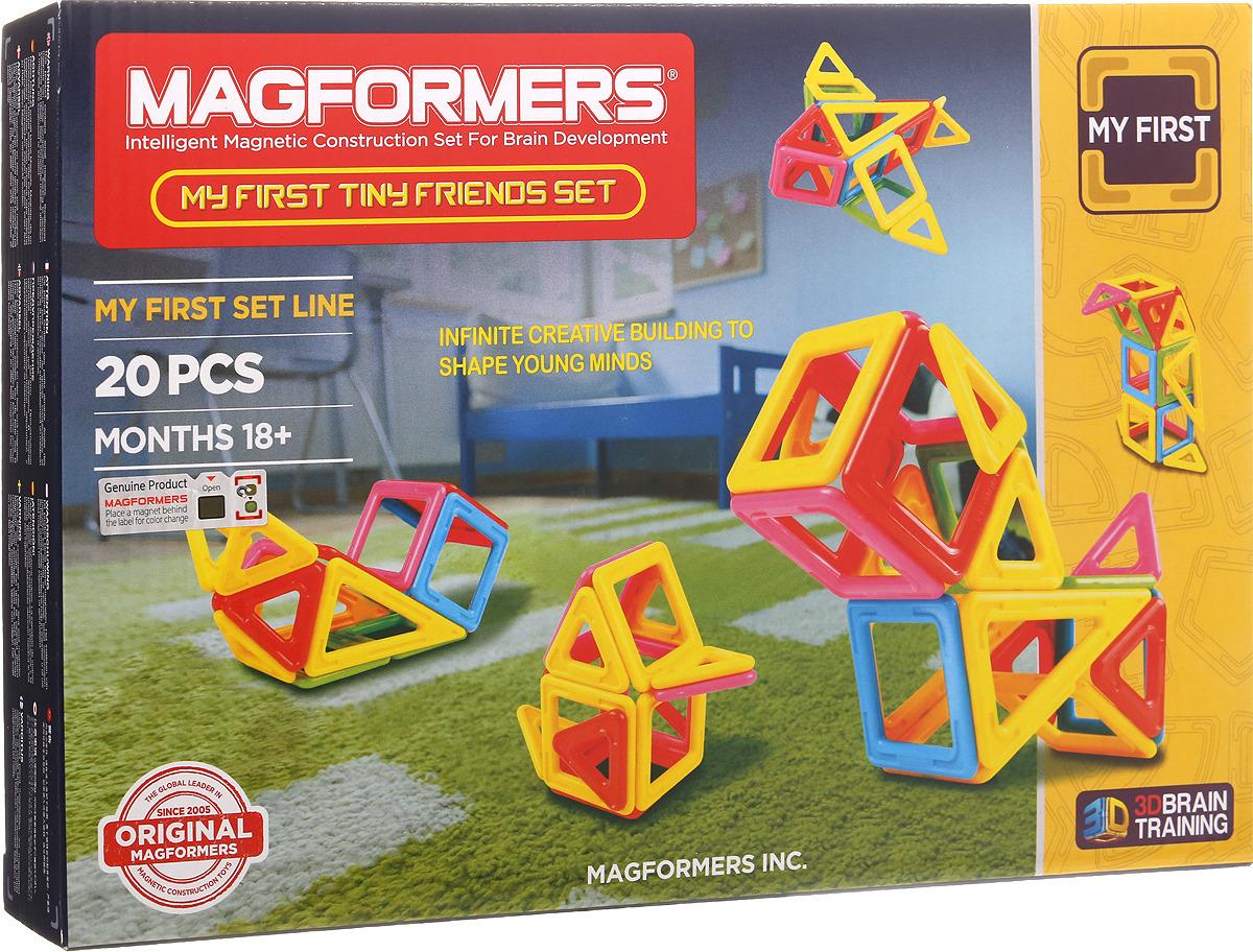 Magformers Магнитный конструктор My First Tiny Friends Set
