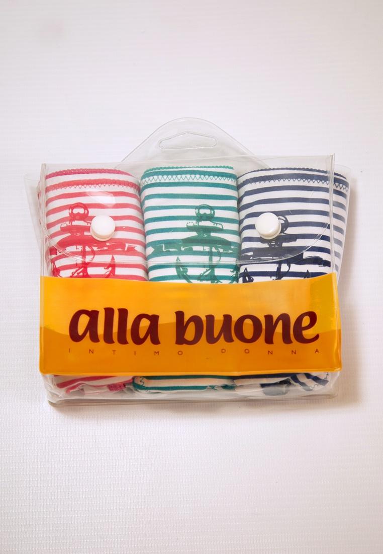 Трусы Alla Buone 3 трусов шортов mentine