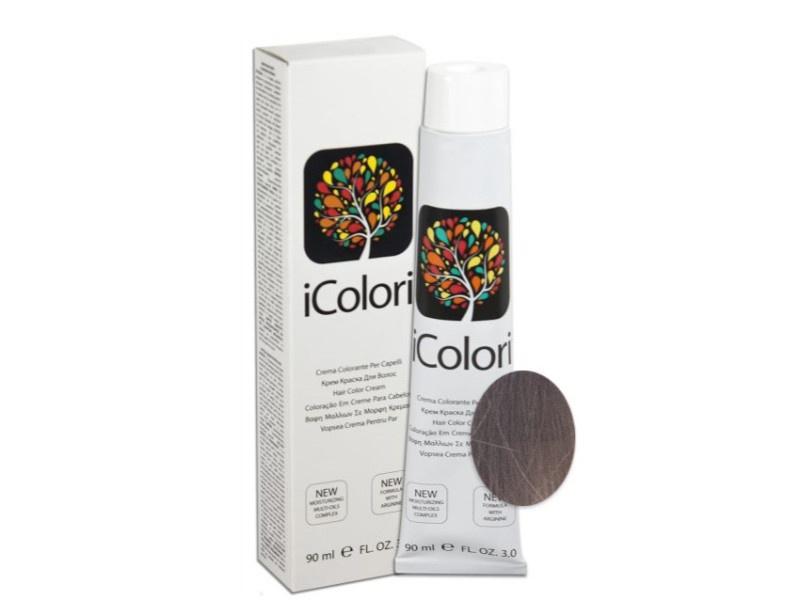 Фото - Крем-краска для волос KayPro iColori, 7.12, 90 мл kaypro краска для волос icolori 5 03 теплый натуральный 90 мл