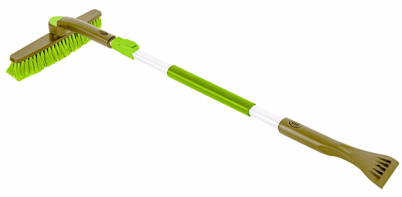 Щетка-скребок телескоп Golden Snail, GS 7010, зеленый, 104-142 см микрофибра golden snail универсальная 35x40cm gs 0323