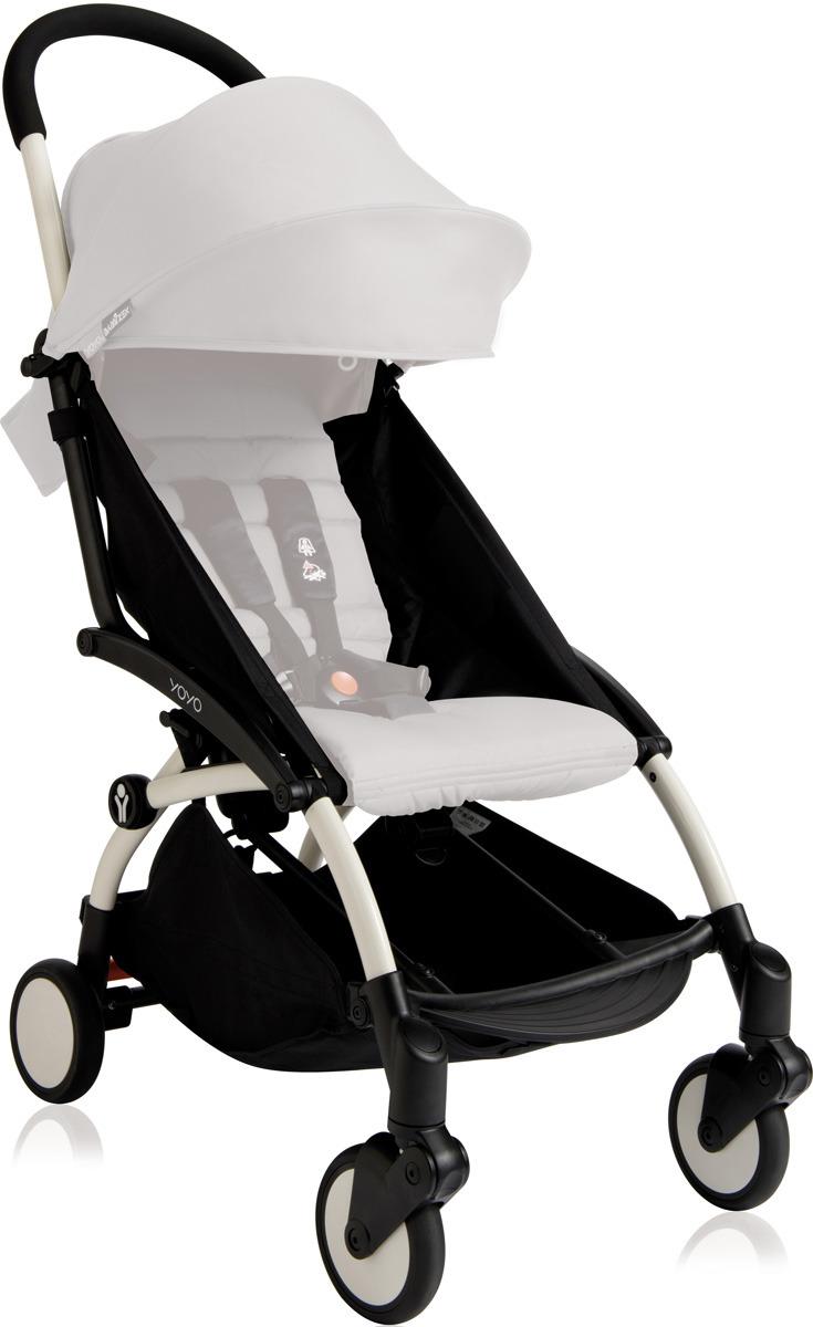 Коляска-трансформер Babyzen Yoyo Plus Stroller Frame, BZ10101-01, white цена