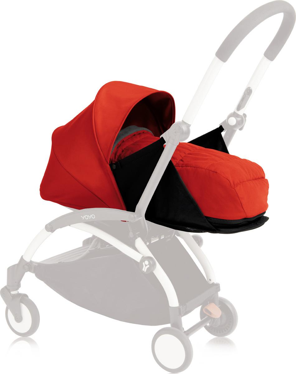 где купить Люлька для коляски Babyzen Yoyo Plus, BZ10107-04, красный дешево
