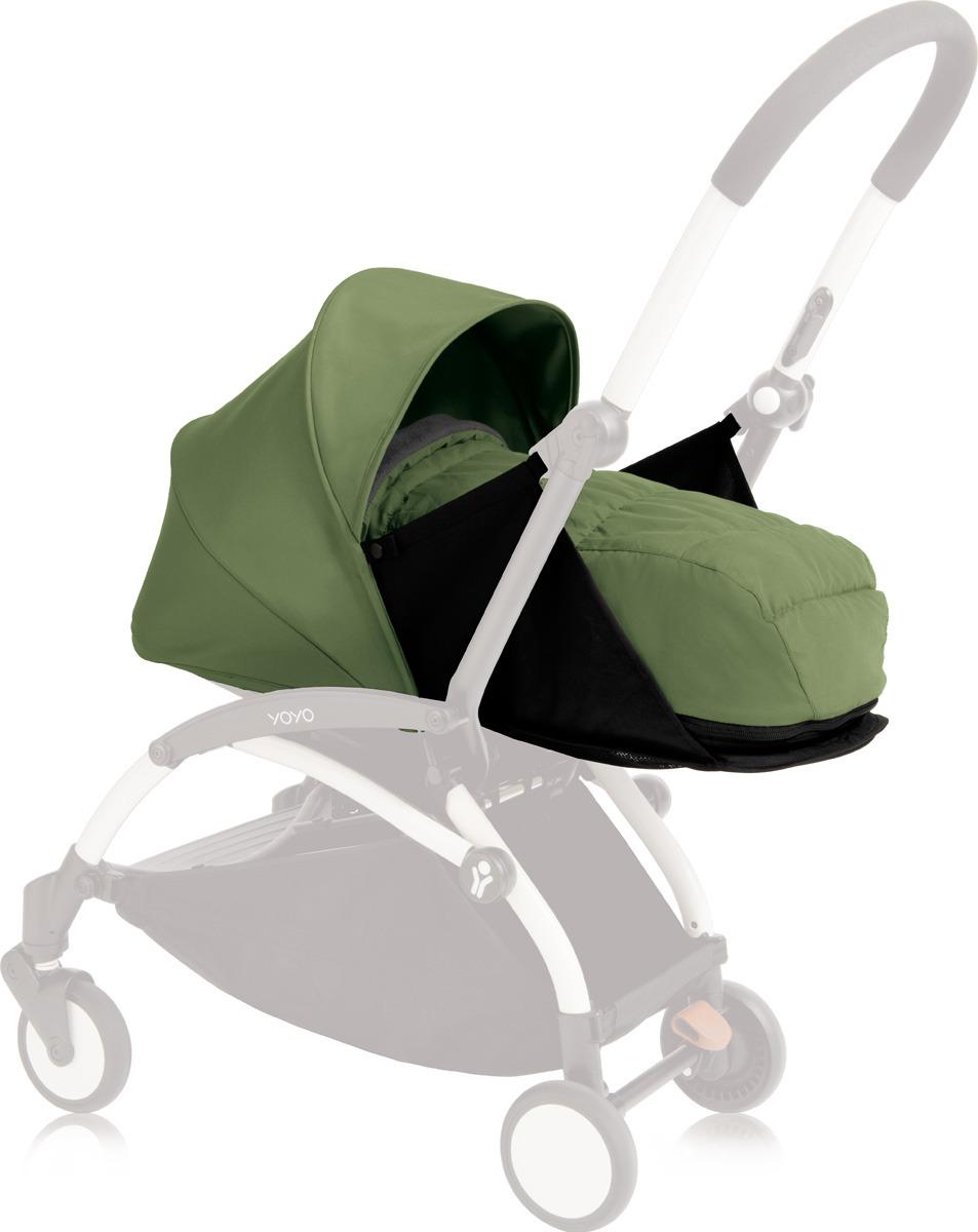 Люлька для коляски Babyzen Yoyo Plus, BZ10107-08, мятный муфта tigger warmhands на ручку коляски