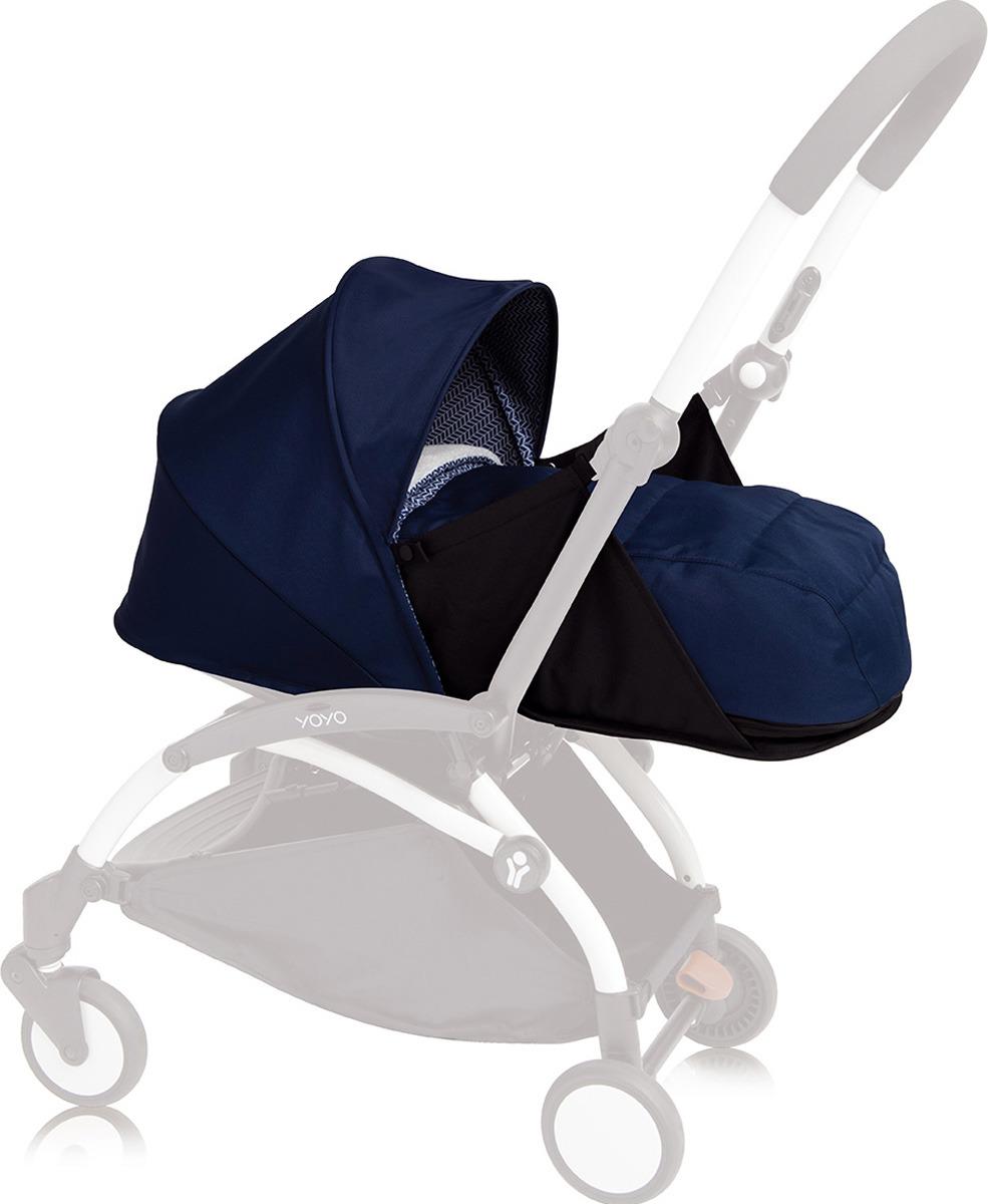 Люлька для коляски Babyzen Yoyo Plus Air France, BZ10107-11, темно-синий муфта tigger warmhands на ручку коляски