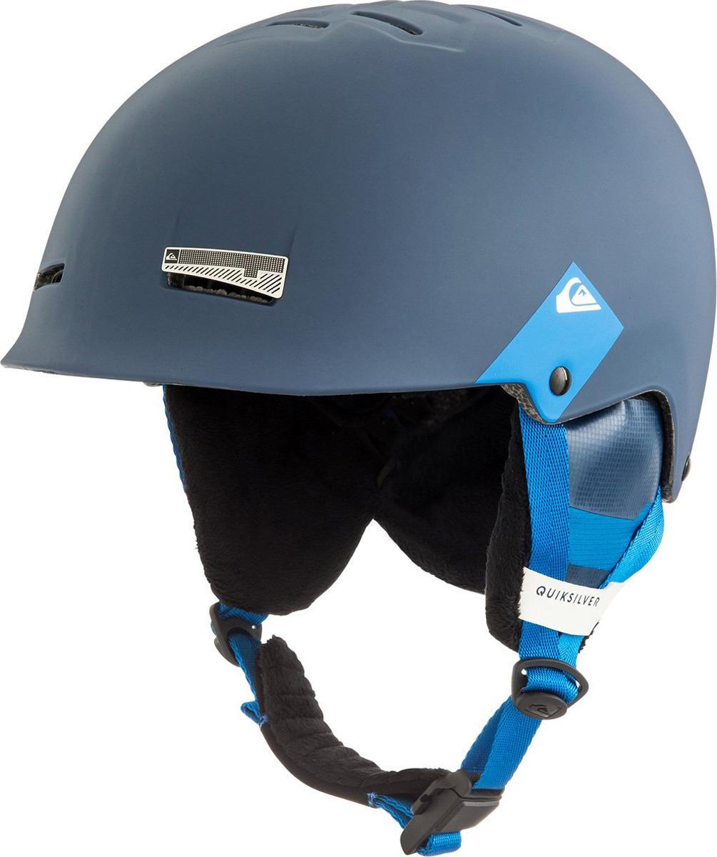 Шлем для горных лыж и сноуборда Quiksilver SKYLAB SRT M HLMT BTK0, цвет: синий. Размер 56