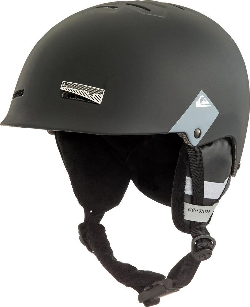 Шлем для горных лыж и сноуборда Quiksilver SKYLAB SRT M HLMT KVJ0, цвет: черный. Размер 56 рюкзак мужской quiksilver everydaypostemb m eqybp03501 bng0 королевский синий