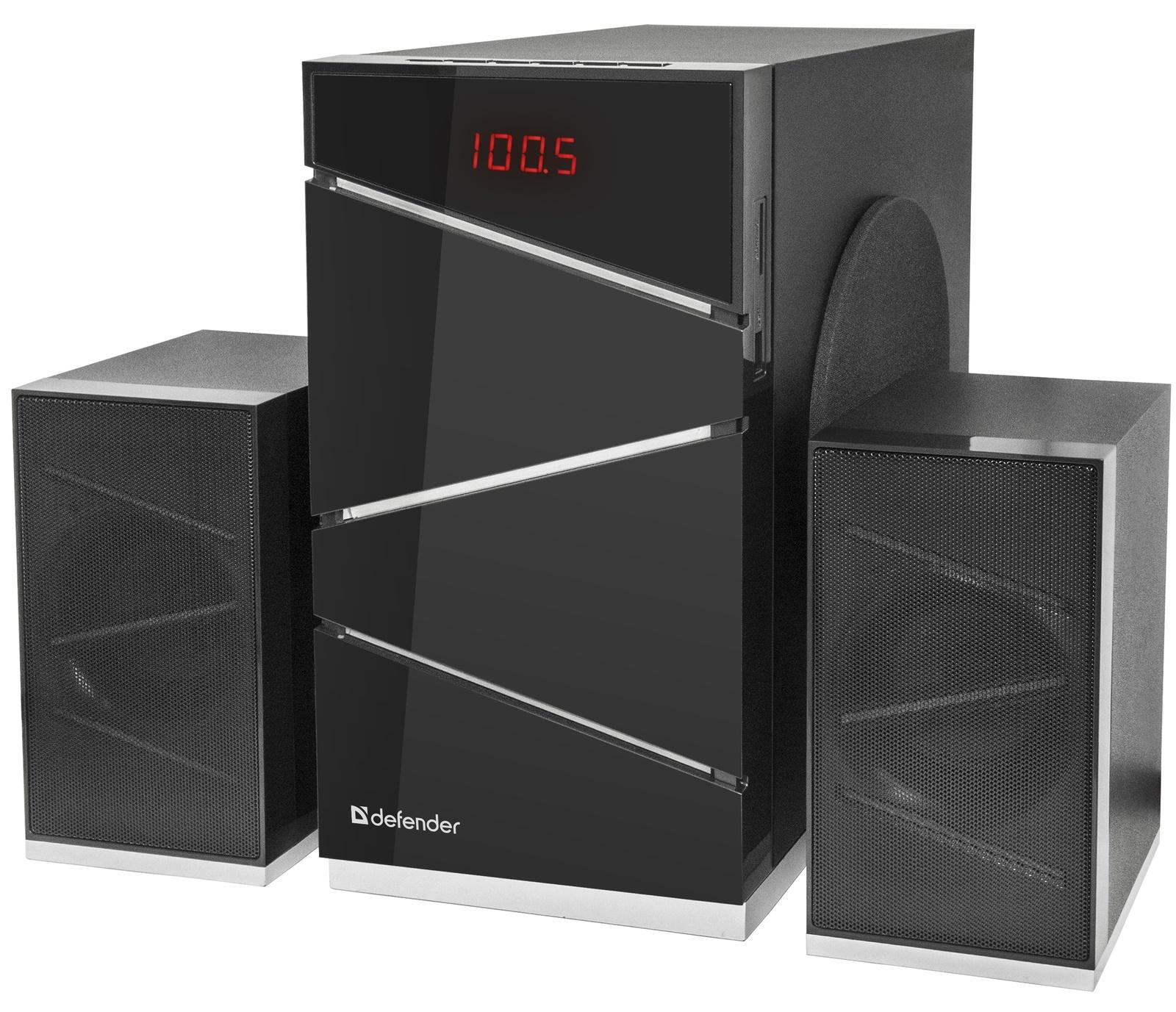 Акустическая 2.1 система Defender G50 50Вт, Bluetooth, FM/MP3/SD/USB