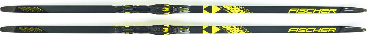 все цены на Лыжи беговые Fischer Twin Skin Carbon Med Ifp, цвет: серый, рост 197 см онлайн