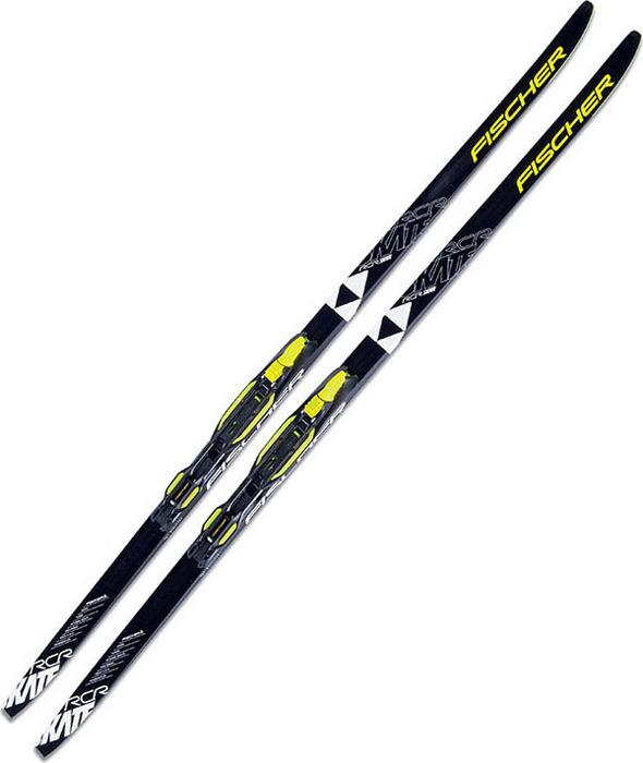 Лыжи беговые Fischer Rcr Skate Jr Ifp, рост 161 см беговые лыжи karjala snowstar 3913 с креплением 75 мм желтый рост 110 см