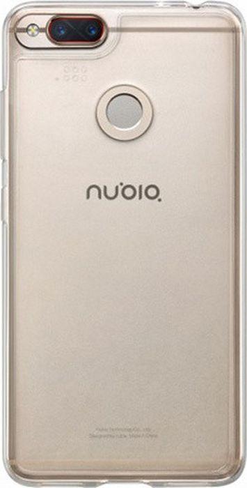 Чехол клип-кейс Nubia для Nubia Z17 Mini, 1064261, прозрачный смартфон nubia z17 mini 64gb черный золотистый