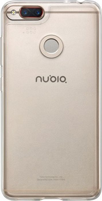 Чехол клип-кейс Nubia для Nubia Z17 Mini, 1064261, прозрачный чехол matin filter case mini для 62mm кейс для светофильтров m 7388