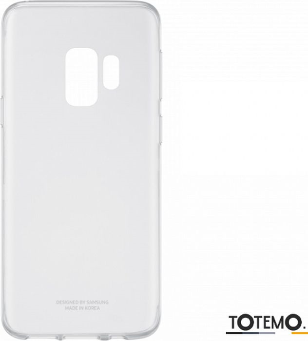Чехол клип-кейс Samsung для Samsung Galaxy S9 Clear Cover, 1045446, прозрачный клип кейс ibox crystal для samsung galaxy j5 прозрачный