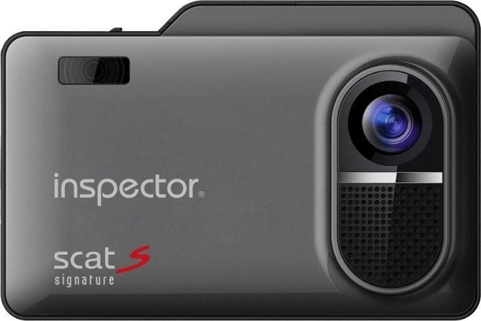 Радар-детектор Inspector Scat S с видеорегистратором, GPS приемник, 1061772, черный the inspector selfie