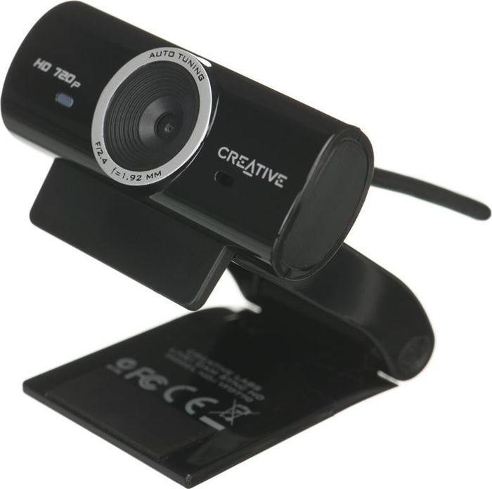 Камера Web Creative Live! Cam Sync HD черный 3.7Mpix USB2.0 с микрофоном веб камера с микрофоном цена