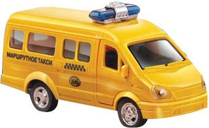 Машинка инерционная Play Smart Маршрутное такси, Р41114 yako машинка инерционная полноприводная серии трасса 6501 7