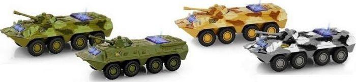 Машинка инерционная Play Smart Танк, Р41609 машинка vsp танк 628437