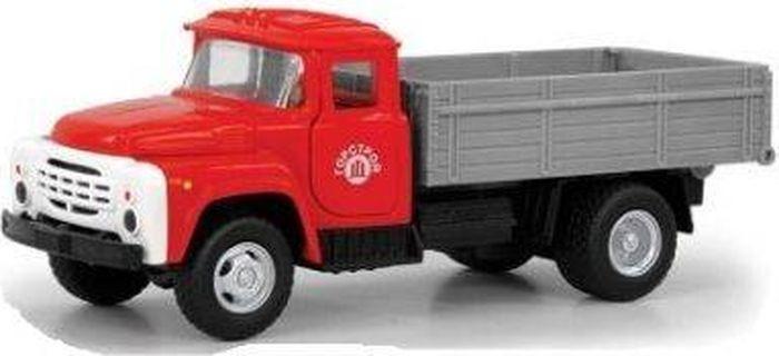 Машинка инерционная Play Smart Грузовик Горстрой, Р49216 грузовик dave инерционный