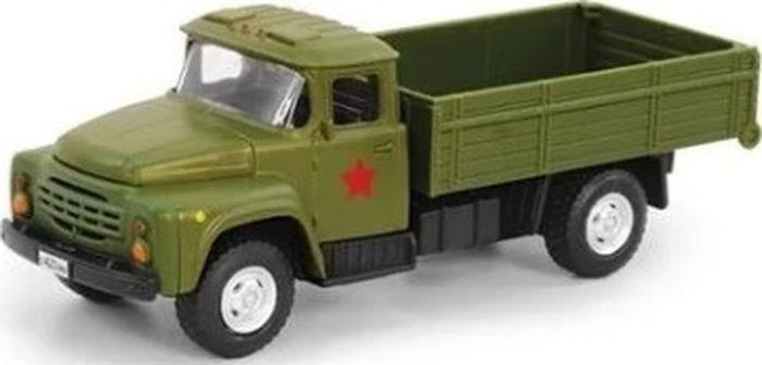 Машинка инерционная Play Smart Военный грузовик, Р49215 грузовик play smart трансформер fullfunk на р у 9200