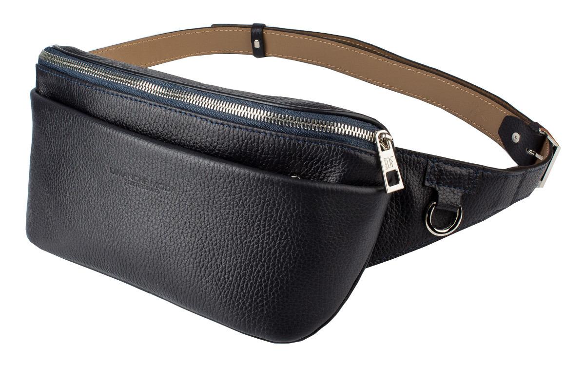 muzee парусиновая мужская сумка через плечо сумка на поясе Сумка мужская Dimanche Maxi, 218/3F, синий