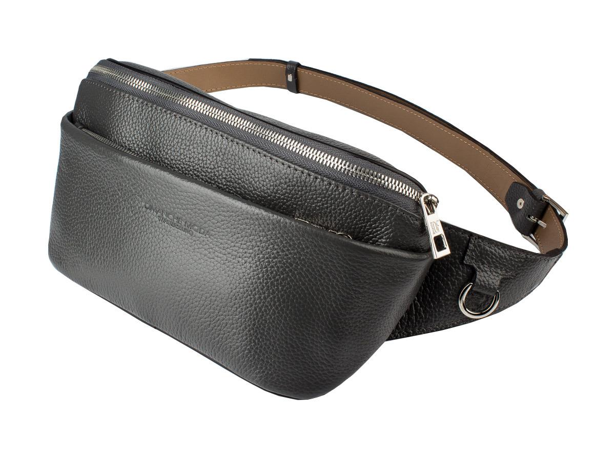 muzee парусиновая мужская сумка через плечо сумка на поясе Сумка мужская Dimanche Maxi, 218/24, серый