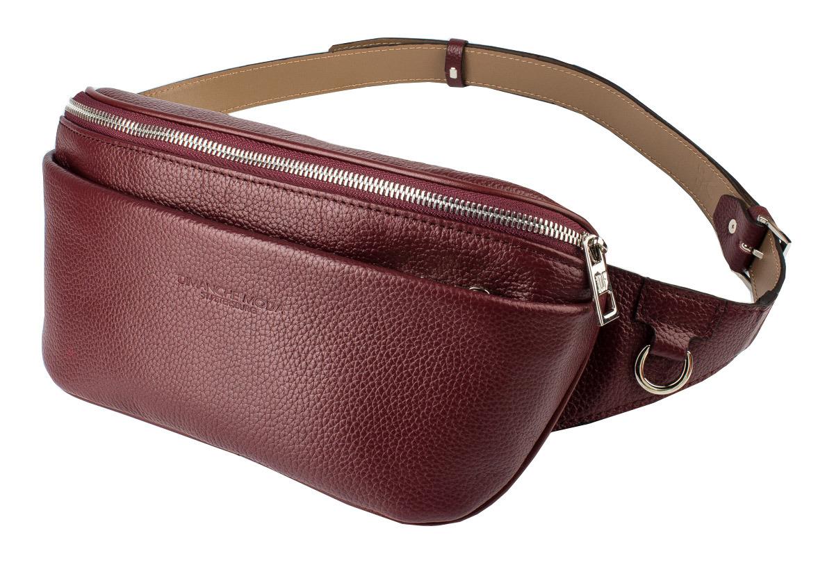 muzee парусиновая мужская сумка через плечо сумка на поясе Сумка мужская Dimanche Maxi, 218/66, бордовый