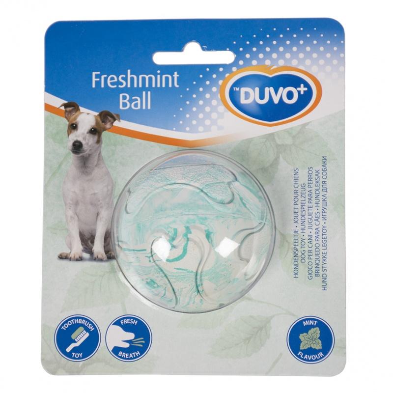 Фото - Мяч резиновый для собак с ароматом мяты Duvo+ Freshmint Ball, 6.3см (Бельгия) кость duvo freshmint резиновая с ароматом мяты 10134 14 см