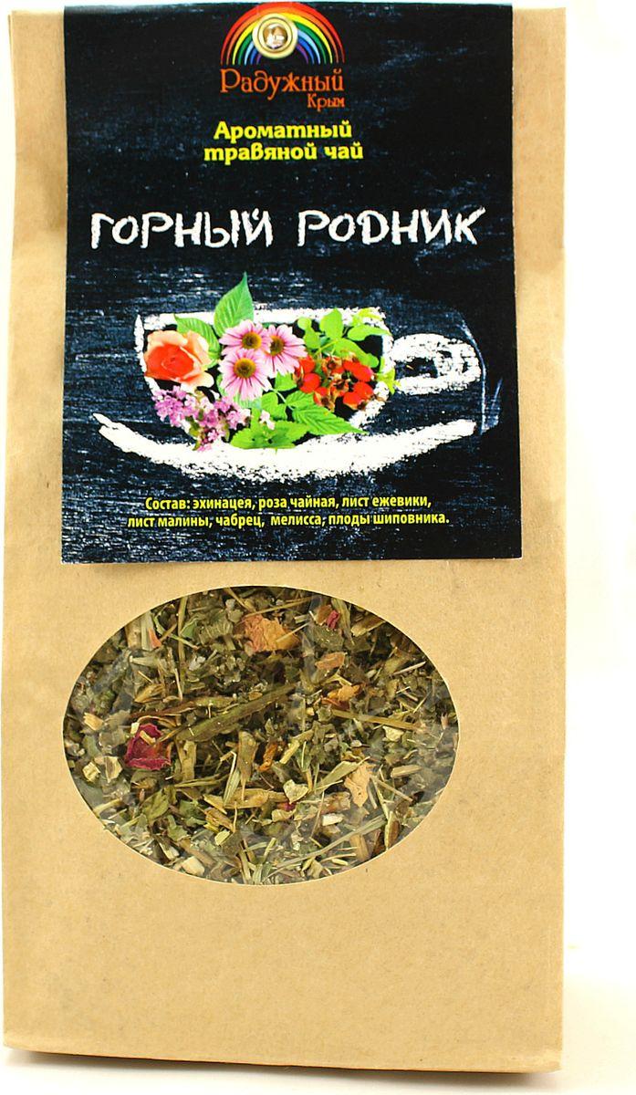 Чай травяной Травы горного Крыма Горный родник, 75 г чай травяной травы горного крыма мята 50 г