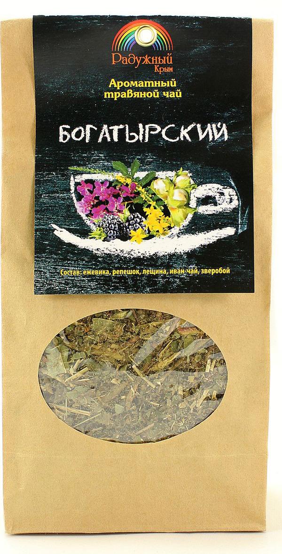 Чай травяной Радужный Крым Богатырский, 75 г травяной сбор лапчатка белая корень сила природы 25 г