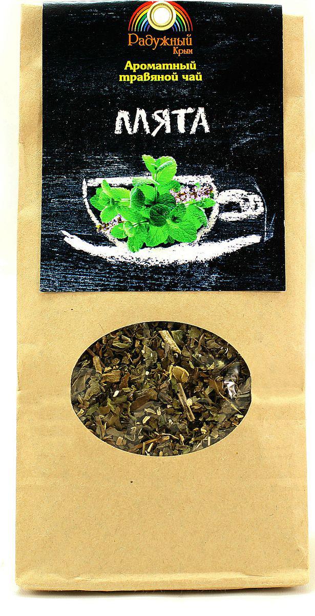 Чай травяной Радужный Крым Мята, 50 г чай травяной травы горного крыма мята 50 г
