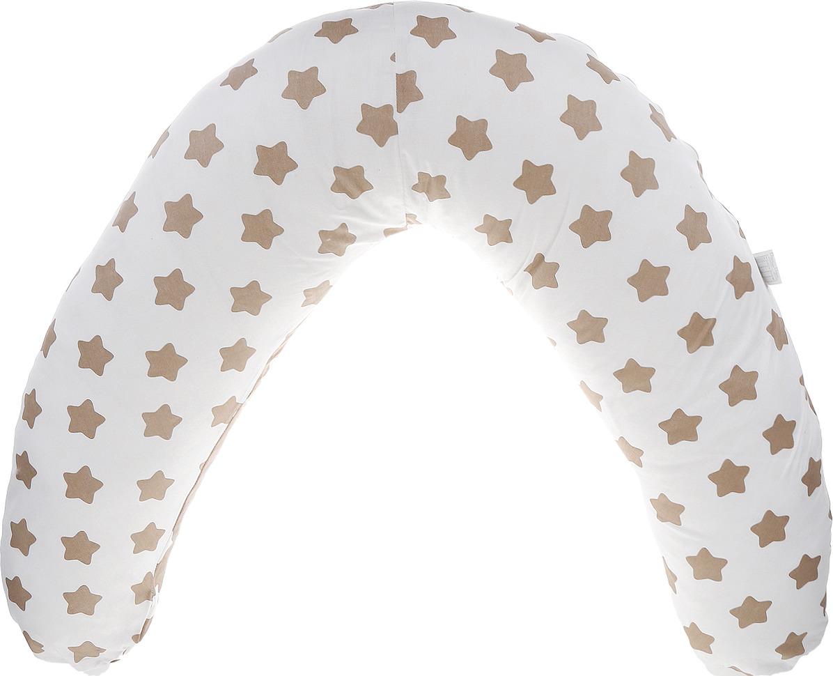 Подушка для кормящих и беременных Bio-Textiles Бумеранг-мини, цвет в ассортименте