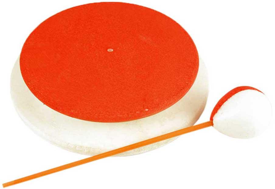 Кружок рыболовный К-160, 8464, белый, красный, зеленый