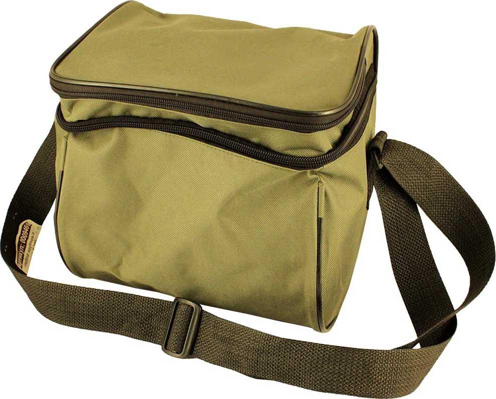 Набор рыболовных кружков К-180, в сумке, 9469, белый, красный, зеленый, 5 шт