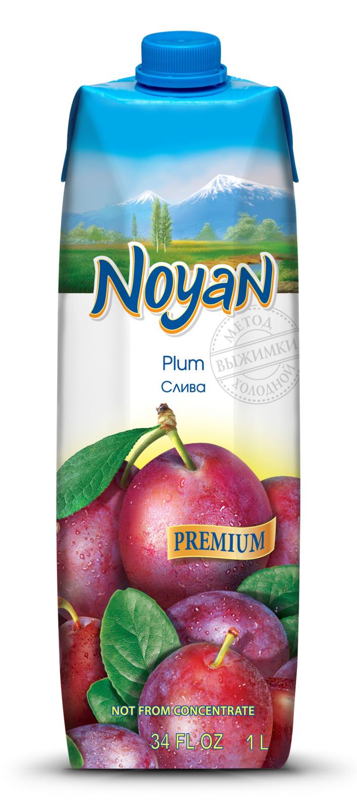 Нектар Noyan Premium Сливовый, 1 л