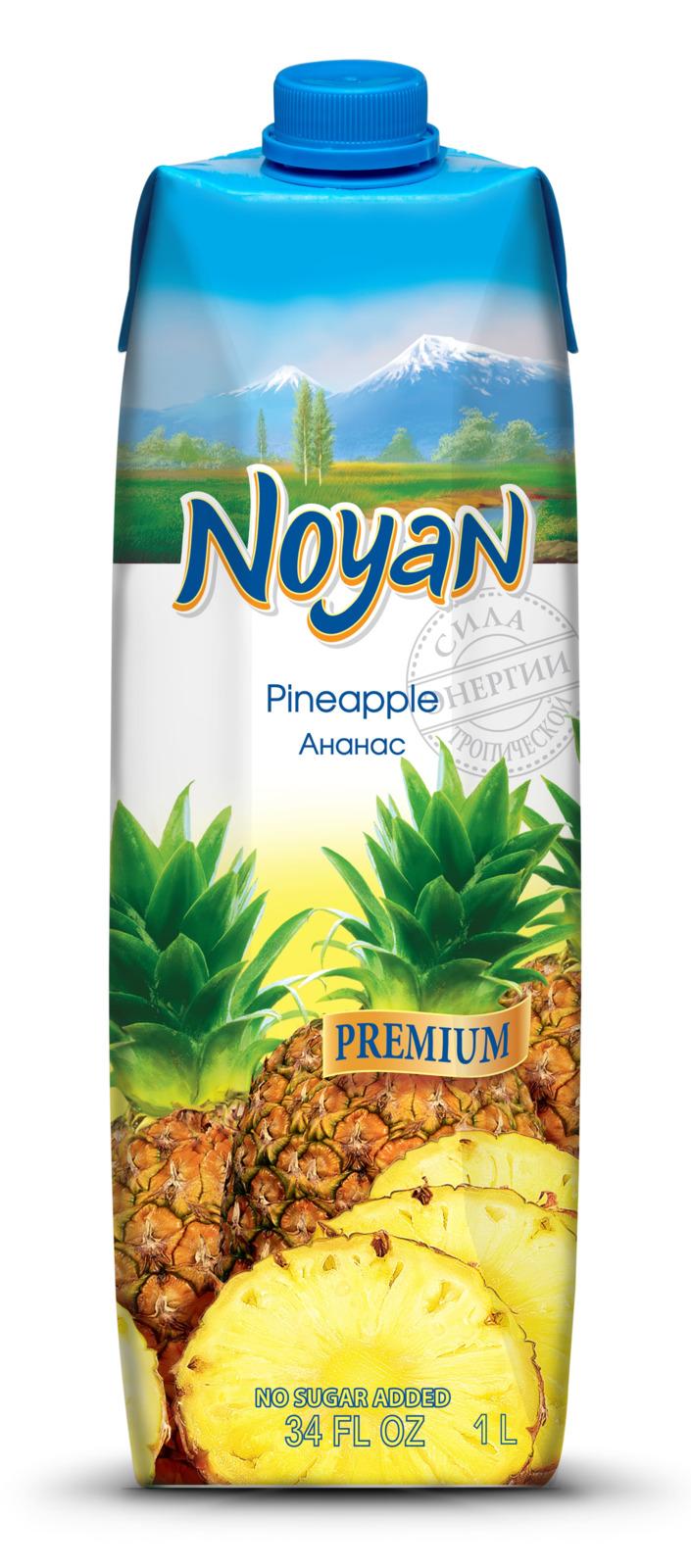 Сок ананасовый Noyan Premium, 1 л