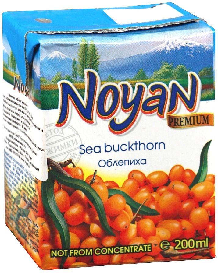Нектар облепиховый Noyan Premium, 200 мл