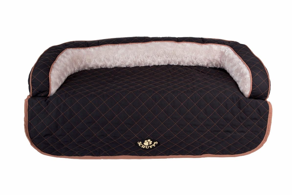 Лежак на диван SCRUFFS Wilton, 676659, черный, 90х70х12см