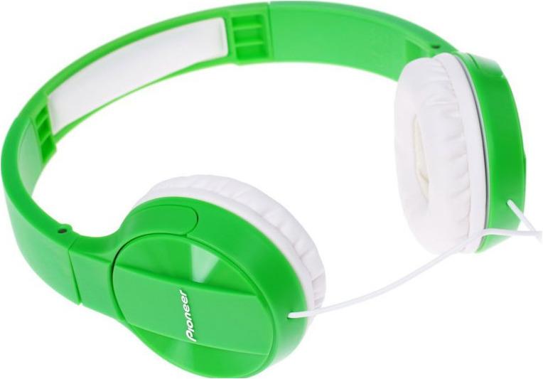 Наушники Pioneer, SE-MJ503-G, зеленый, белый наушники pioneer se mhr5