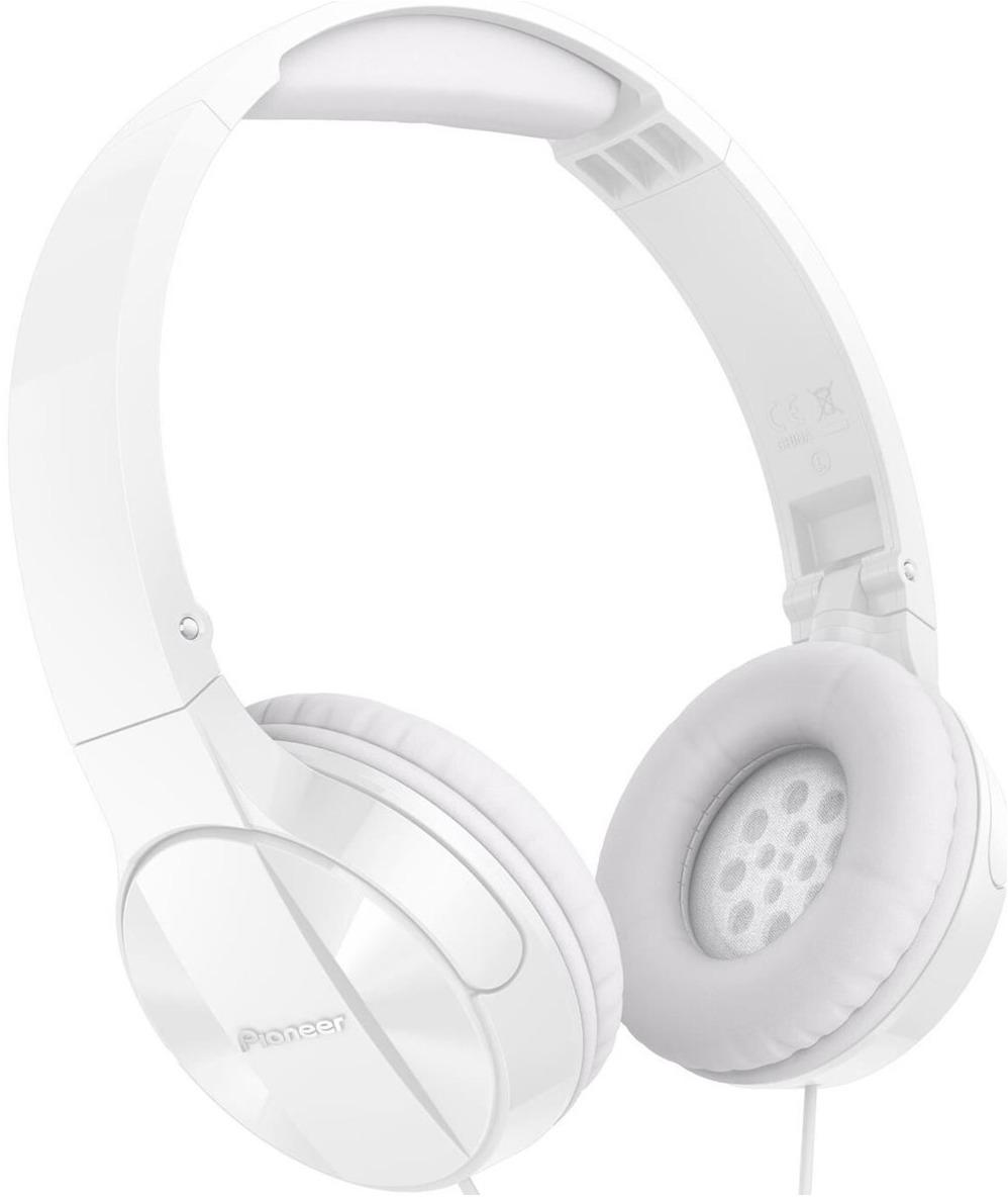 лучшая цена Наушники Pioneer, SE-MJ503-W, белый