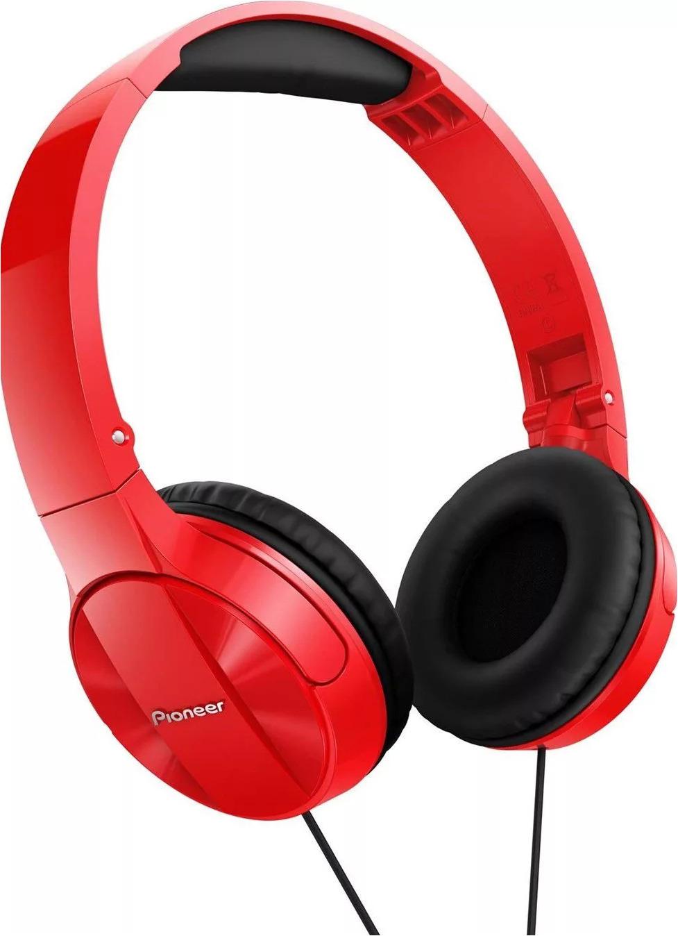 Наушники Pioneer, SE-MJ503-R, красный pioneer se cl712t красный