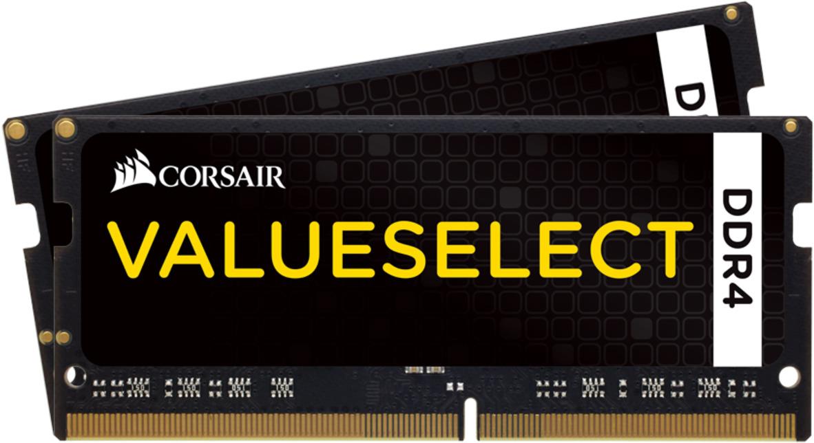 Модуль оперативной памяти Corsair DDR4 2x8Gb 2133MHz, CMSO16GX4M2A2133C15 модуль памяти kingston ddr4 dimm 2133mhz pc4 17000 cl15 8gb kvr21n15s8 8