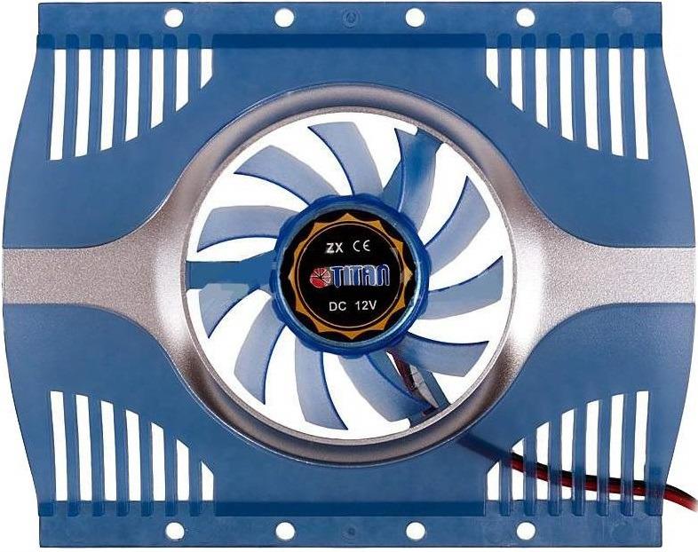 Вентилятор компьютерный Titan, TTC-HD12TZ вентилятор компьютерный titan ttc hd12tz