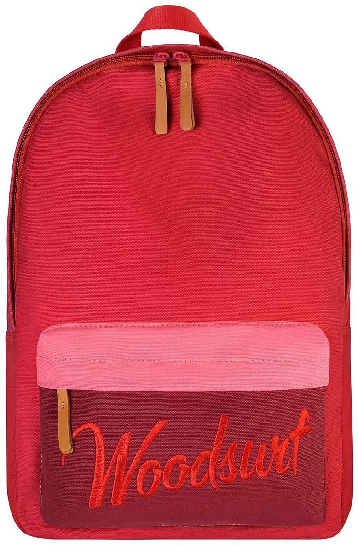 Рюкзак Woodsurf Express Academy On The Way, BPEAOTW-1, красный, розовый, 15 л термостакан woodsurf on the way цвет белый 500 мл