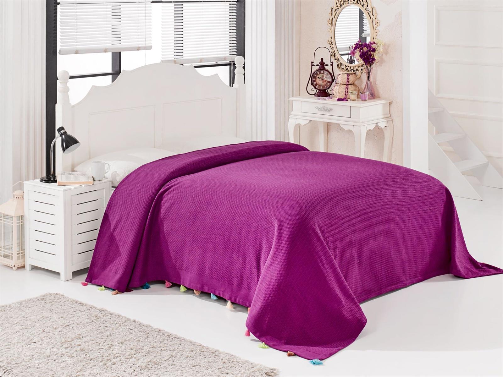 Покрывало DO&CO POP_фиолетовый фиолетовый