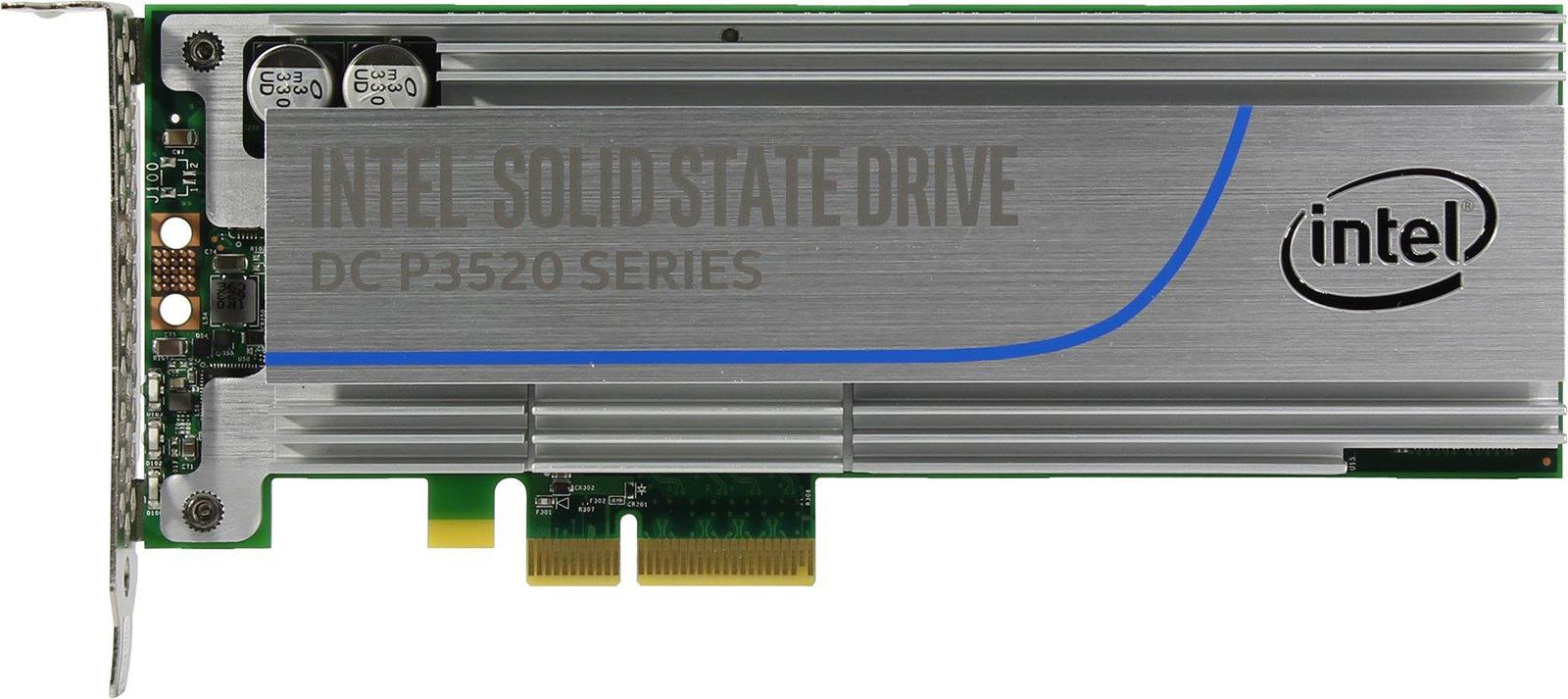 SSD накопитель Intel P3520 1228GB, SSDPEDMX012T701 твердотельный накопитель ssd intel ssd dc p3520 450gb ssdpe2mx450g701 u 2 2 5 r1200 w600