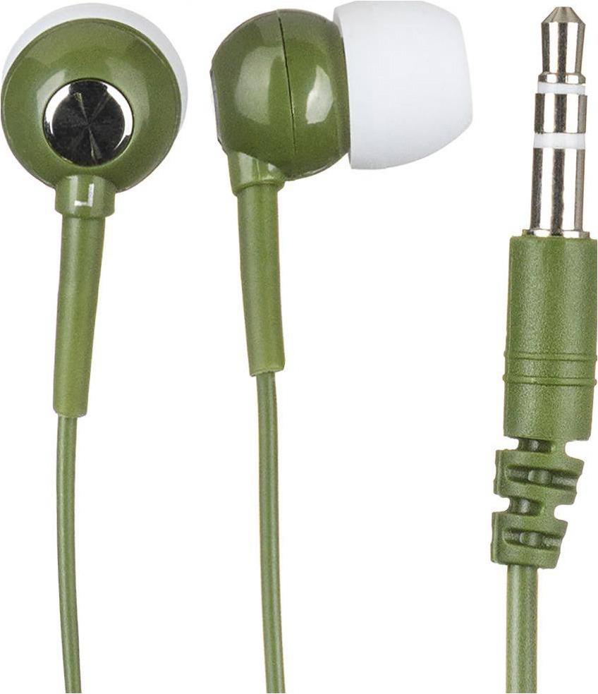 Наушники-вкладыши BBK EP-1200S, 486594, оливковый