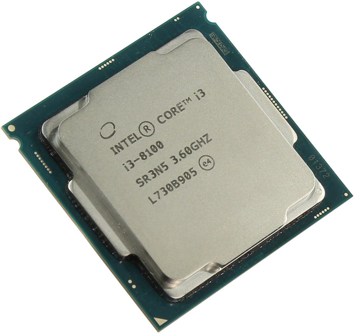Процессор Intel Original Core i3 8100, BX80684I38100 S R3N5 intel core i3 3220