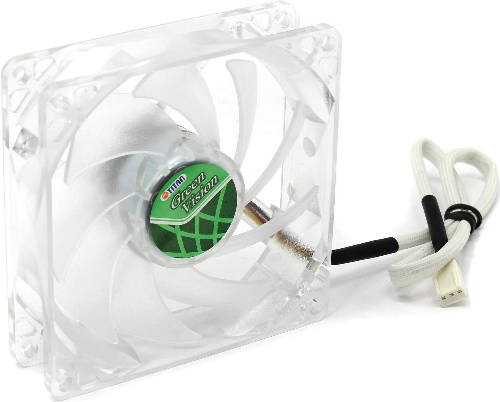 Вентилятор компьютерный Titan, TFD-9225GT12Z вентилятор канальный titan вк 200 круглый
