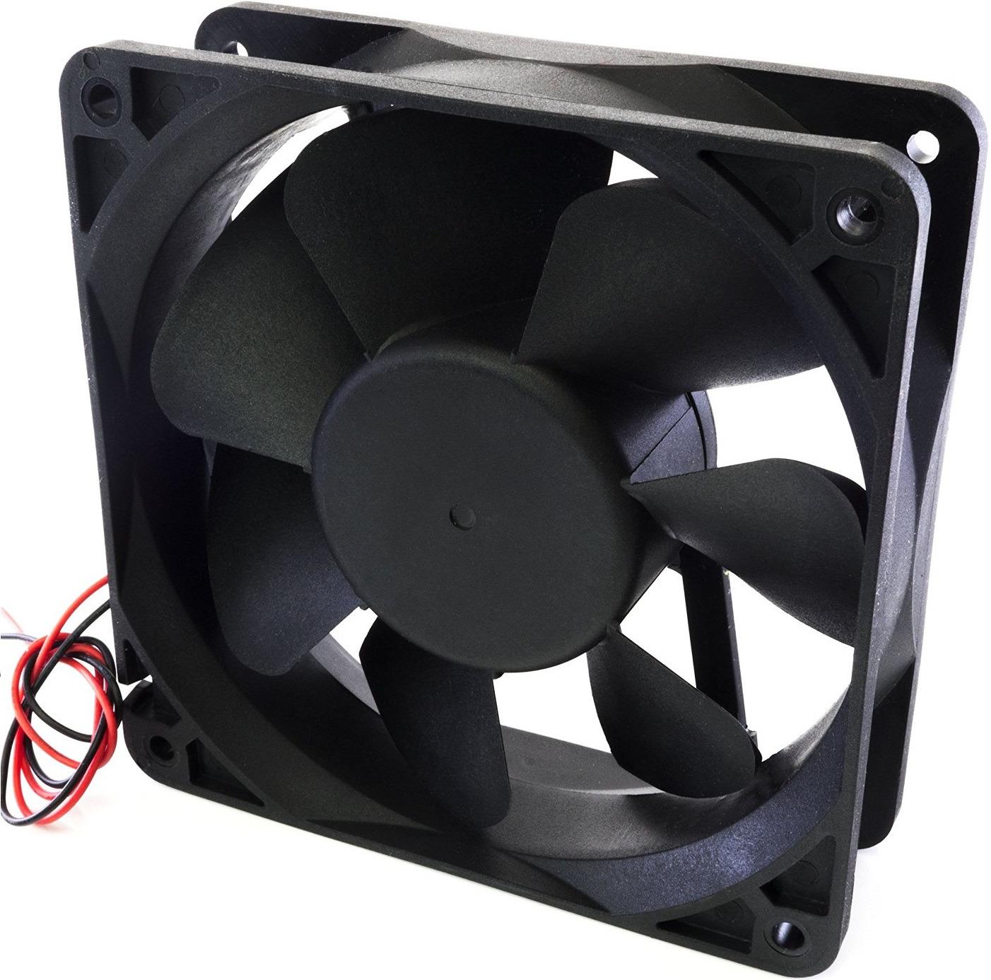 Вентилятор компьютерный Titan, TFD-9225L12Z, черный вентилятор компьютерный titan ttc hd12tz