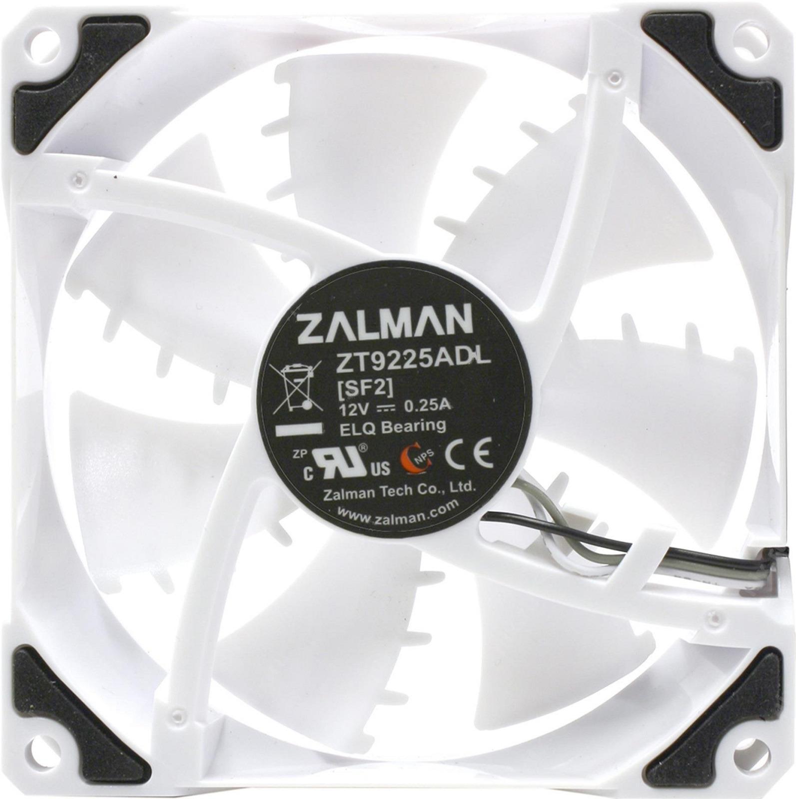 Вентилятор компьютерный Zalman, ZM-SF2 вентилятор 80x80 zalman zm f1 plus