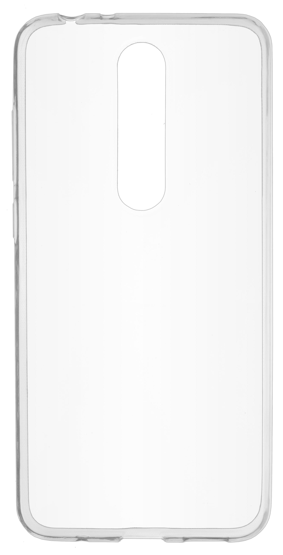 Накладка skinBOX для Nokia X5, прозрачный